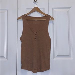 American Eagle Thick Strap Tank Top
